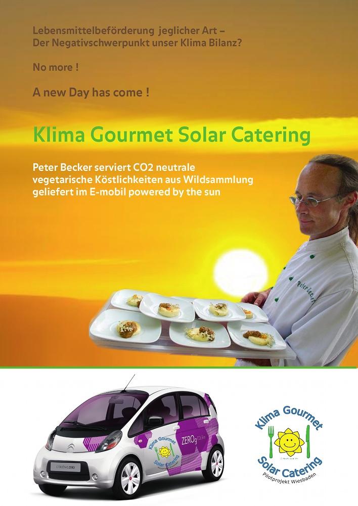Klima Gourmet Solar Catering | NewTritionInk