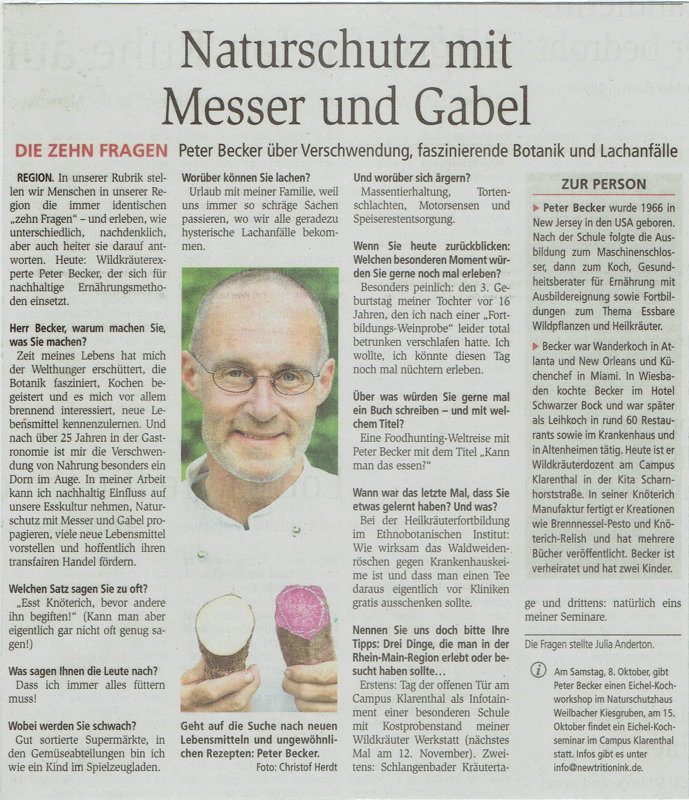 Wiesbadener Kurier 10 Fragen